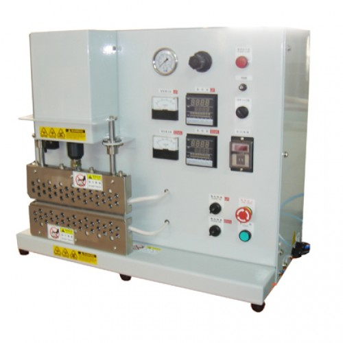 This Heat Seal Tester is used for testing heat sealing condition of film case of polymer batteries by controlling temperature, time and pressure.